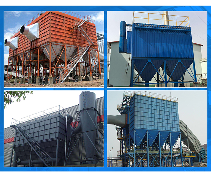 Industrial pulse cyclone filter bag dust collector